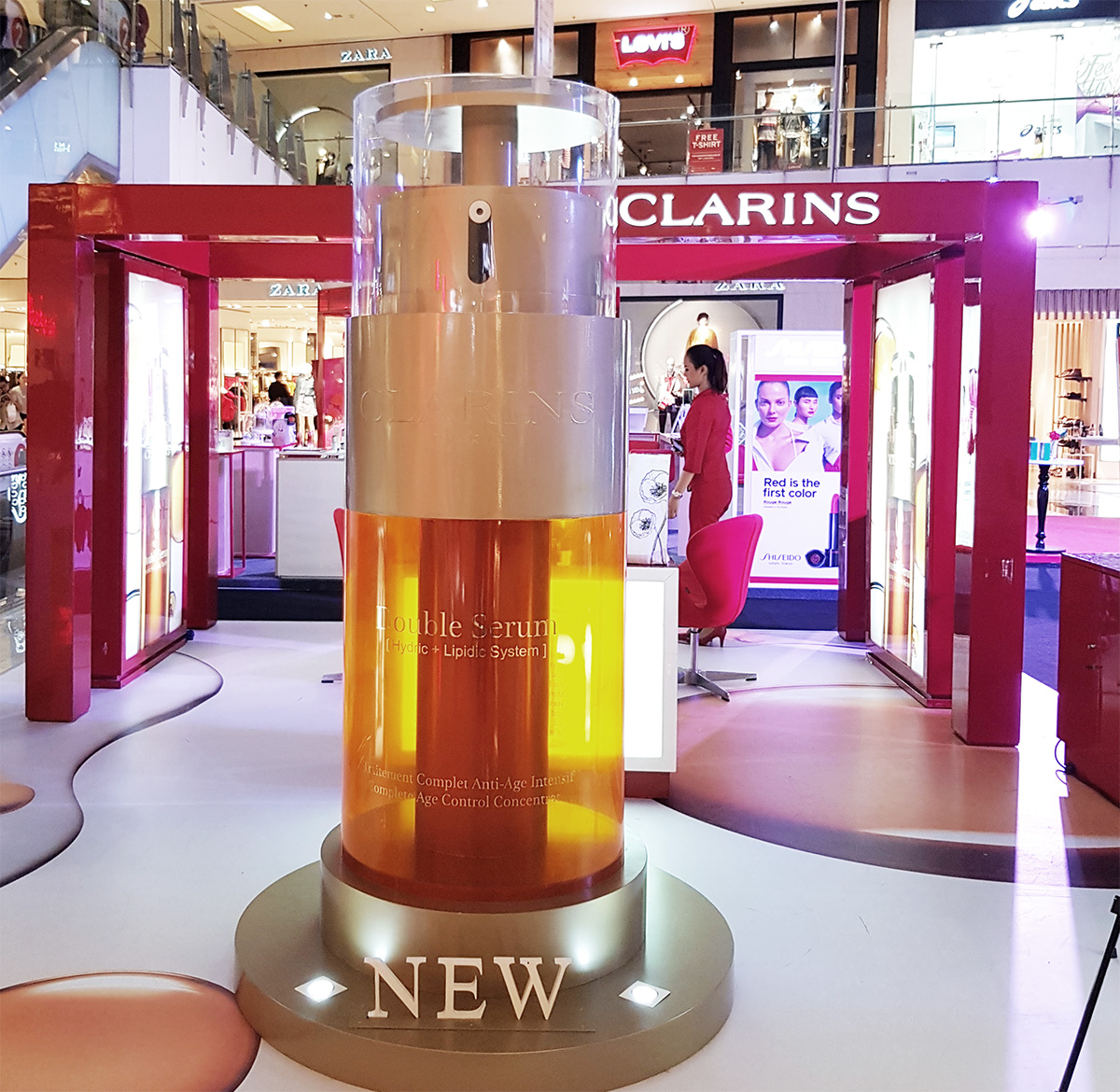 NEw Clarins Double Serum launch Jakarta