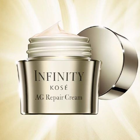 Kose Infinity AG repair Cream Review